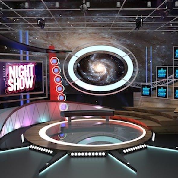 Virtual TV Studio Talkshow 1