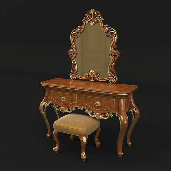 European Style Dressing Table 2