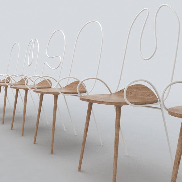 Sylph Chair by Atelier Deshaus - 3DOcean Item for Sale