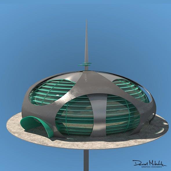 Futuristic Architecture Skyscraper #10