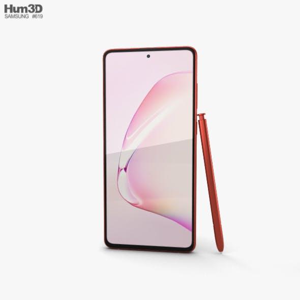 Samsung Galaxy Note10 Lite Aura Red