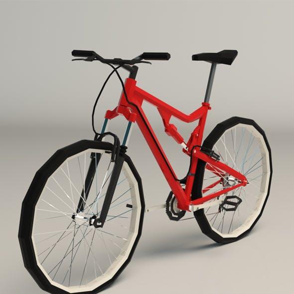 Low Poly Mountain Bike