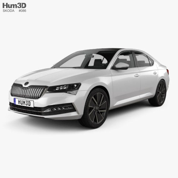 Skoda Superb iV liftback 2020