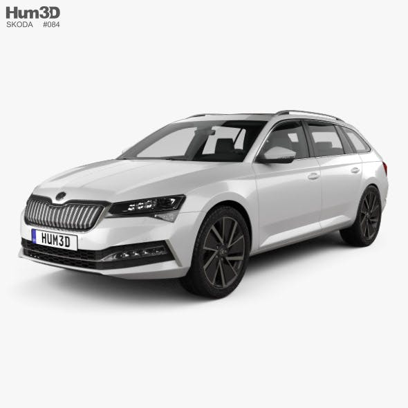 Skoda Superb combi iV 2020