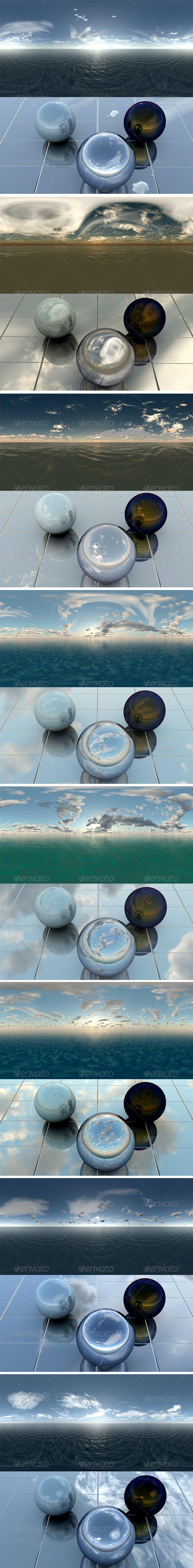 Pack 6 - Sea - 3DOcean Item for Sale