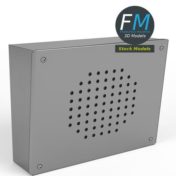 Intercom speaker 2
