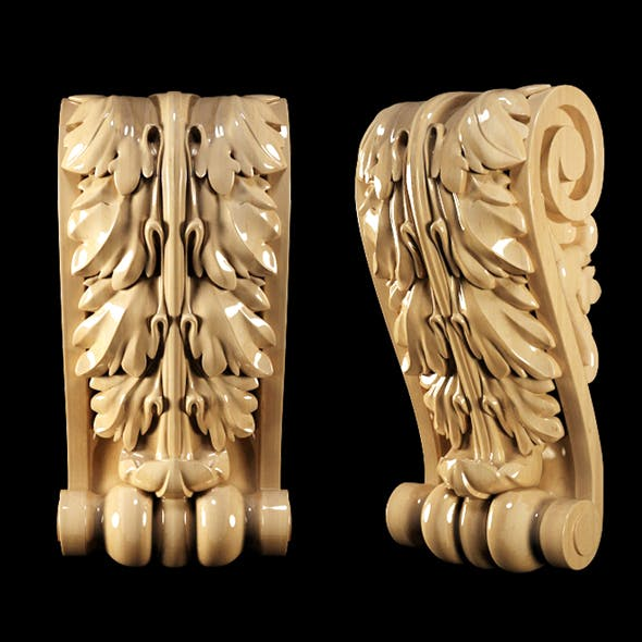 Classical Carved Bracket