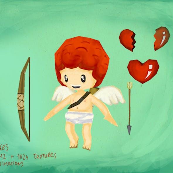 Cupid lowpoly