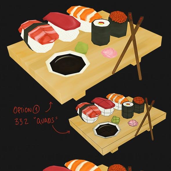 Sushi and Maki pack