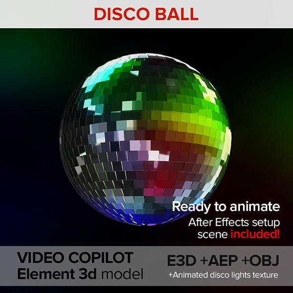 Disco mirror ball
