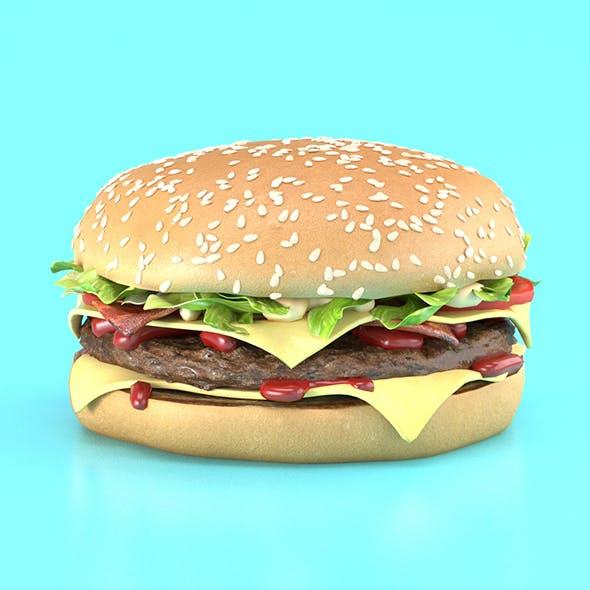 Burger - 3DOcean Item for Sale