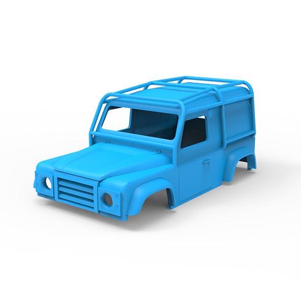 Land Rover Defender 90 LE 1997 3D Printing Model