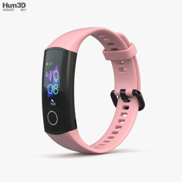 Honor Band 5 Pink