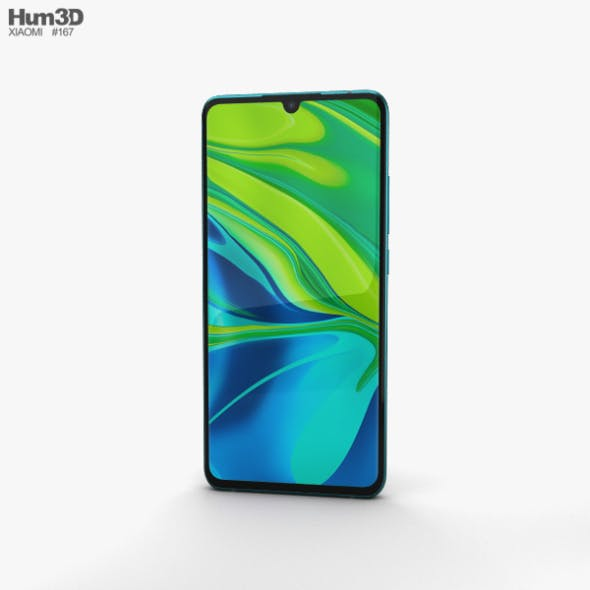Xiaomi Mi Note 10 Aurora Green