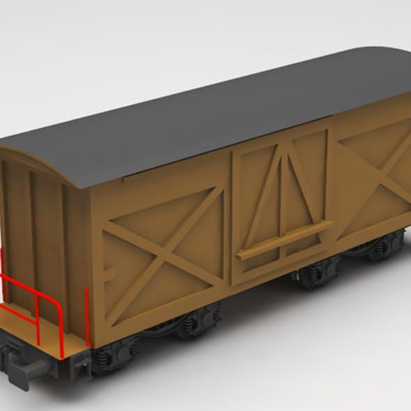 train wagon box