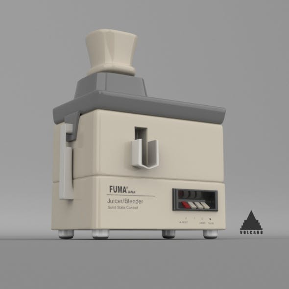 LOW POLY OLD STYLE ELECTRIC JUICER