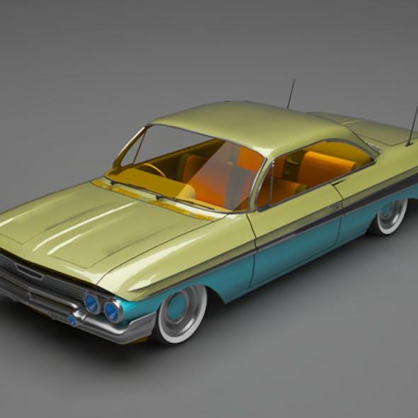 Classic car impala