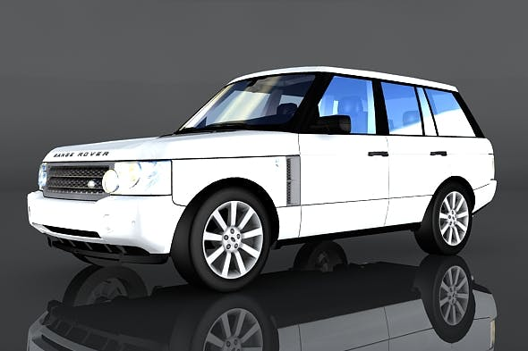 Land Rover Range Rover - 3DOcean Item for Sale