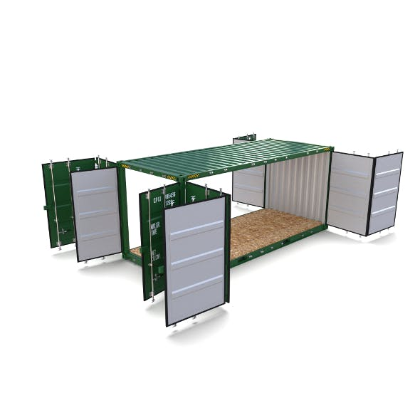 20ft Shipping Container Double Side Open