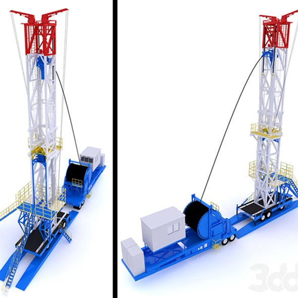 Oil production tower
