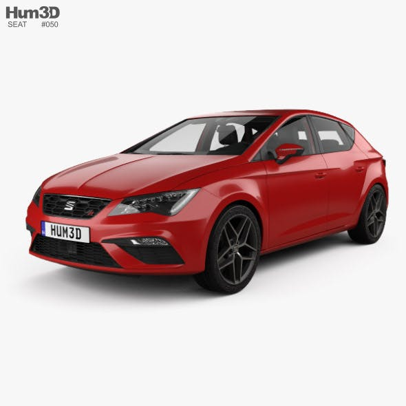 Seat Leon FR with HQ interior 2016