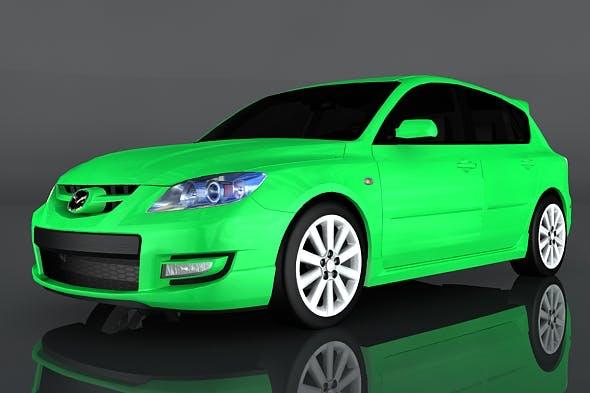 2009 Mazda 3 - 3DOcean Item for Sale