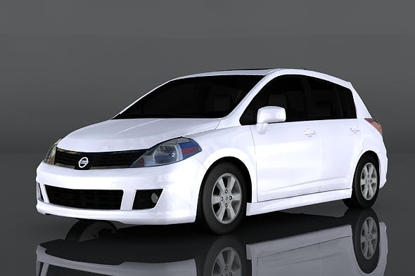 Nissan Versa - 3DOcean Item for Sale