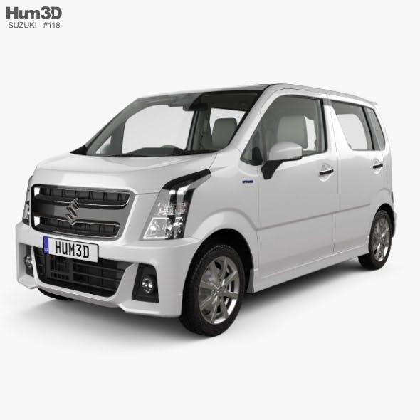 Suzuki Wagon R Stingray Hybrid with HQ interior 2018