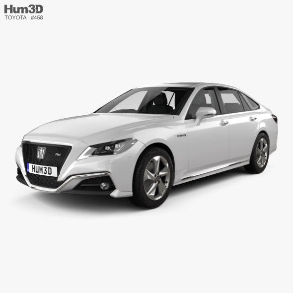 Toyota Crown RS Advance with HQ interior 2018