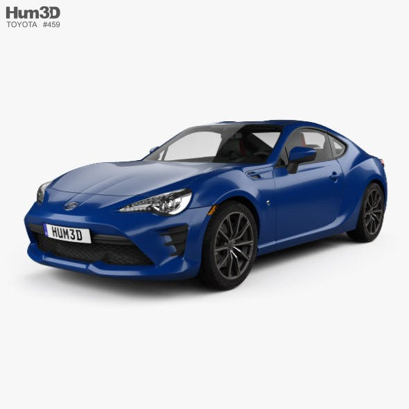 Toyota GT86 US-spec with HQ interior 2017