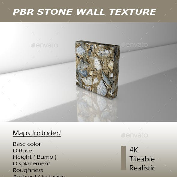 REALISTIC PBR STONE WALL TEXTURE.