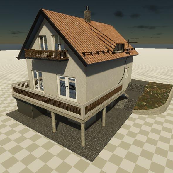 European family house