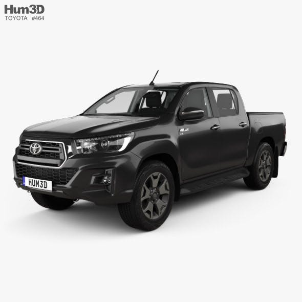 Toyota Hilux Double Cab L-edition with HQ interior 2019