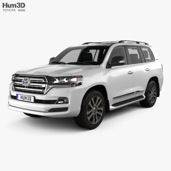 Toyota Land Cruiser Excalibur with HQ interior and engine 2017