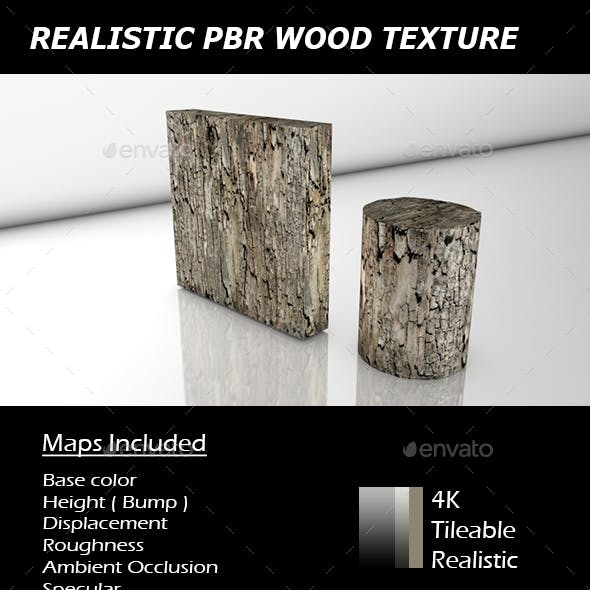 REALISTIC TILEABLE PBR WOOD TEXTURE