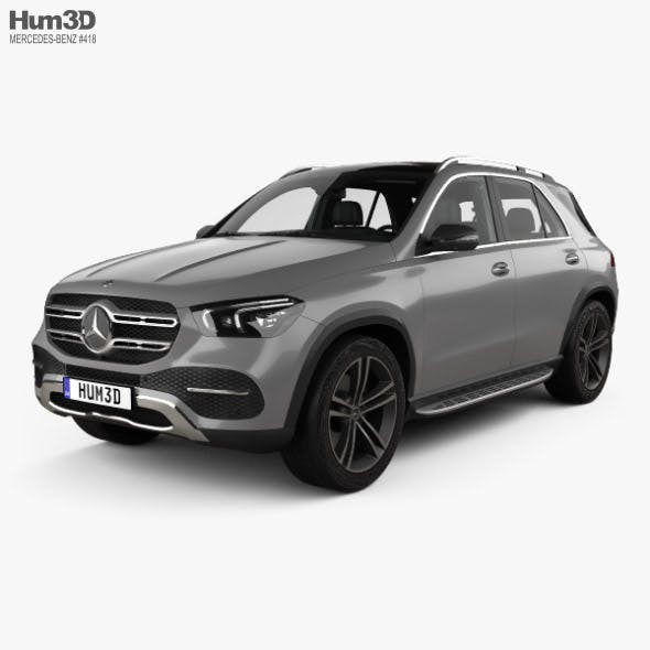 Mercedes-Benz GLE-class with HQ interior 2019