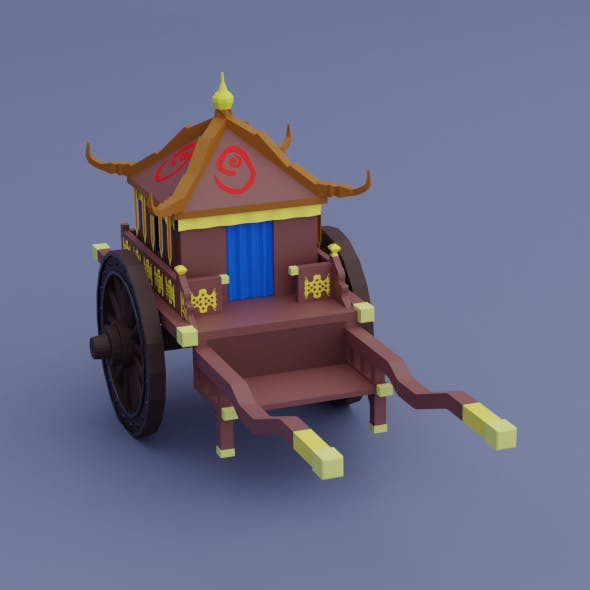 Ancient  Chinese chariot