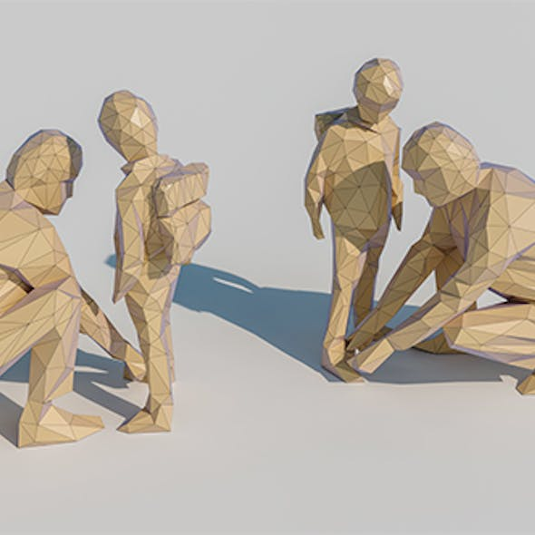 Lowpoly Family 001