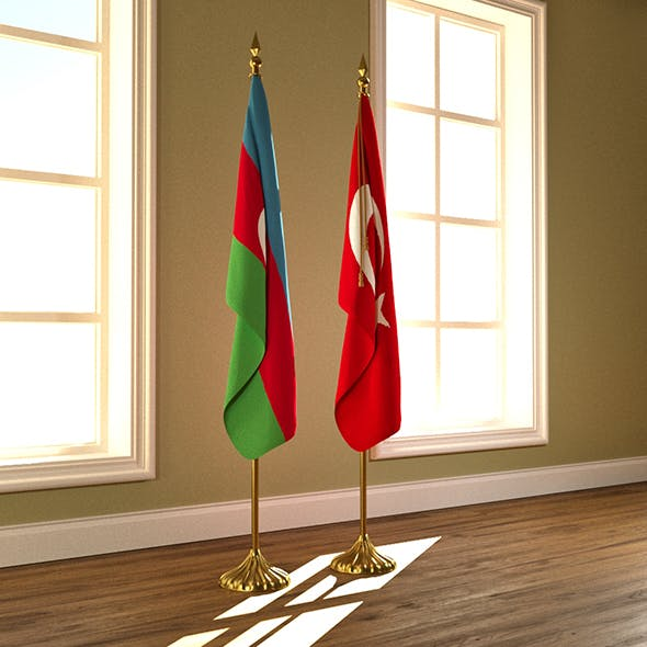 Flag stand 3D