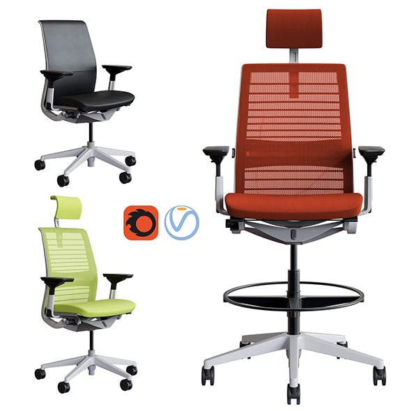 Steelcase - Office Chair Think