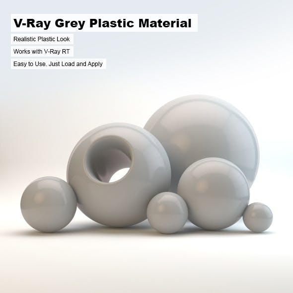 V-Ray Grey Plastic Material