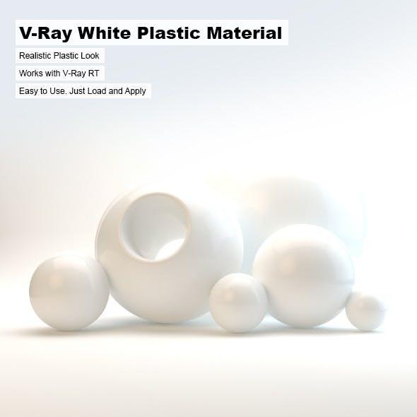 V-Ray White Plastic Material