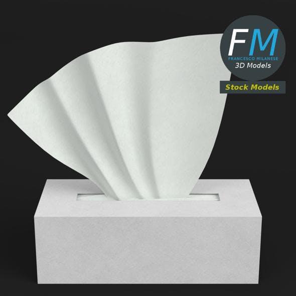 Tissue box 1 - 3DOcean Item for Sale