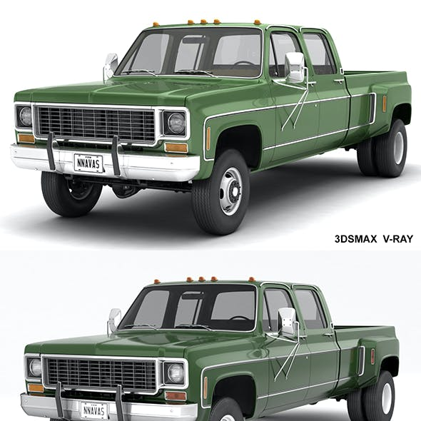 GENERIC 4WD DUALLY PICKUP TRUCK 9