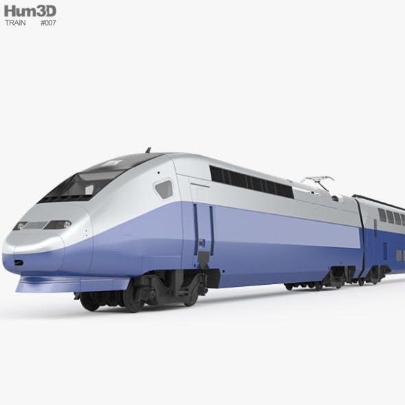 SNCF TGV 2N2 Euroduplex