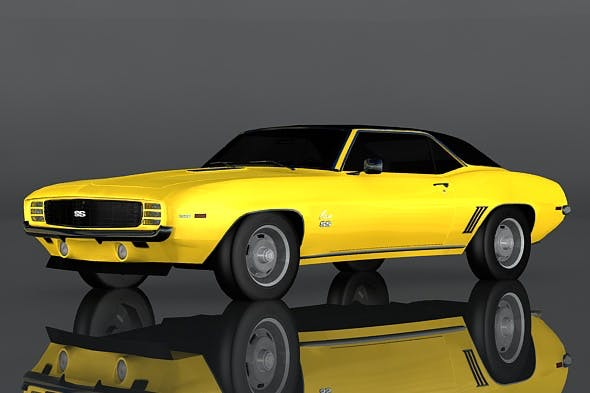 Chevrolet Camaro SS - 3DOcean Item for Sale