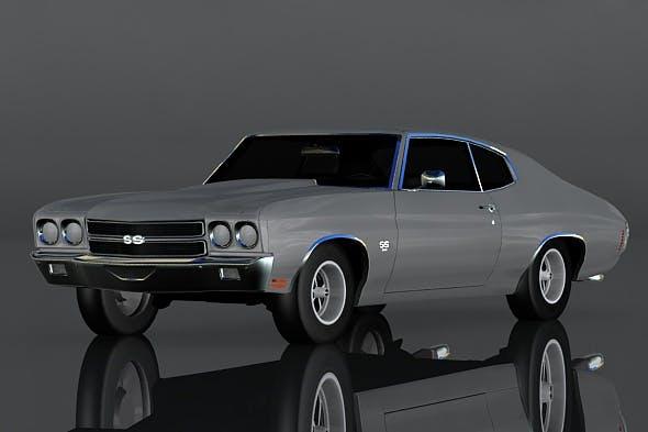 Chevrolet Chevelle SS 454 - 3DOcean Item for Sale