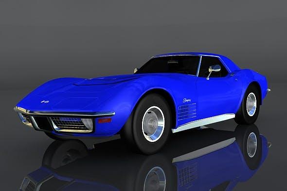 Chevrolet Corvette ZR-1 - 3DOcean Item for Sale