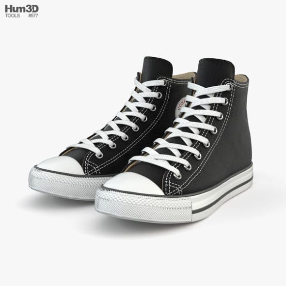 Converse Chuck Taylor All Star - 3DOcean Item for Sale