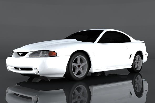 1995 Ford Mustang - 3DOcean Item for Sale